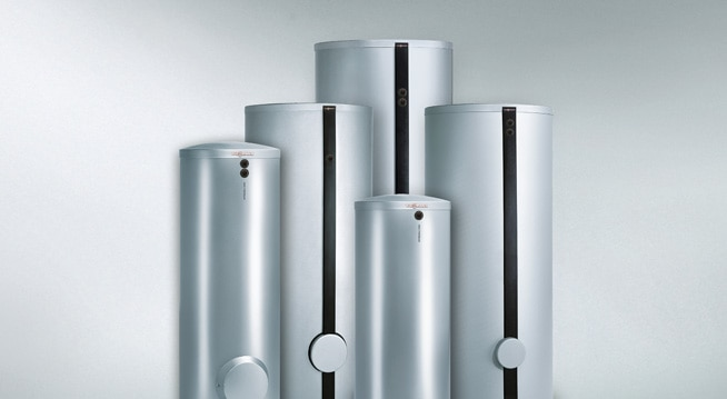 Vitocell Warmwasserspeicher - ideal auf Viessmann Solaranlagen abgestimmt