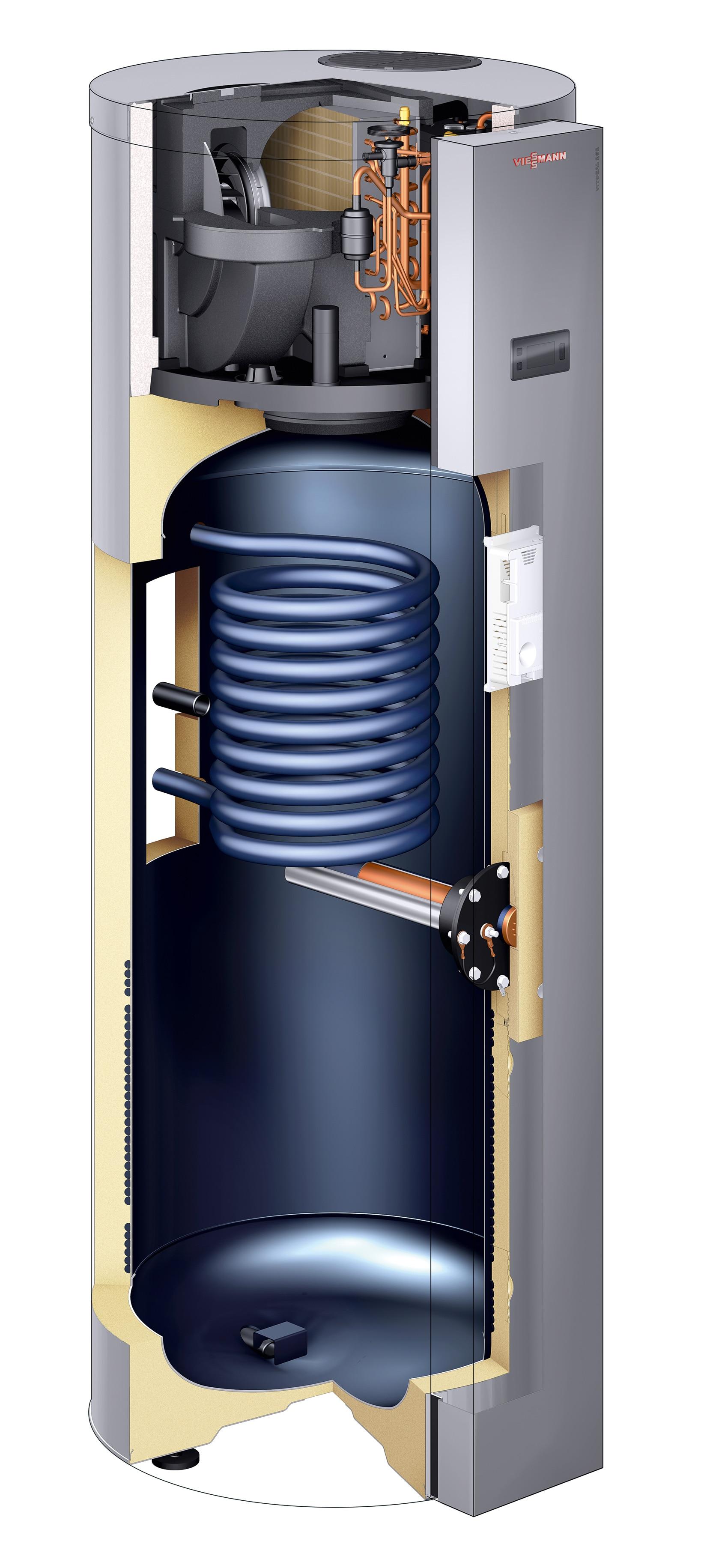 Innovative Warmwasser Warmepumpe Vitocal 262 A Viessmann